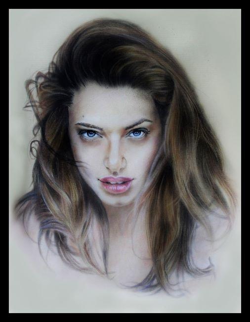 Angelina Jolie par burdge12
